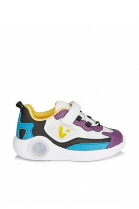 Vicco Yoda Kız Çocuk Beyaz/mor Spor Ayakkabı 2