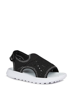 Vicco Macaron Erkek Çocuk Siyah Sandalet 0