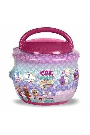 Cry Babies Magic Tears Fantasy Paci Evler Sürpriz Paket Cym02000 - Koyu Pembe 1