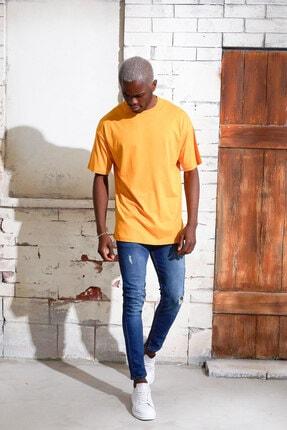 Densmood Pamuklu Oversize T-shirt 2