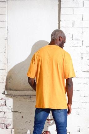 Densmood Pamuklu Oversize T-shirt 3