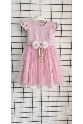 Miss Rana Tüllü Abiye Çocuk Elbise 0