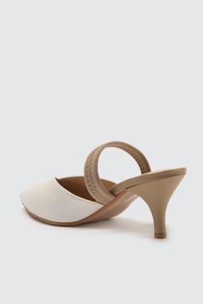 TRENDYOLMİLLA Beyaz Kadın Klasik Topuklu Ayakkabı TAKSS21TO0004 3