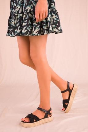 Soho Exclusive Siyah Kadın Sandalet 14952 2