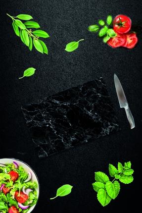 Saban Siyah Mermer | Cam Kesme Tahtası - Cam Kesme Tablası | 20 Cm X 30 Cm 3