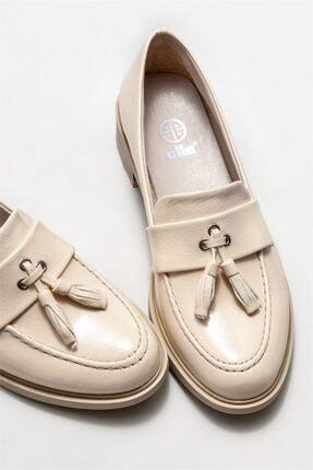 Elle Kadın Bej Loafer Ayakkabı 2