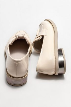 Elle Kadın Bej Loafer Ayakkabı 3