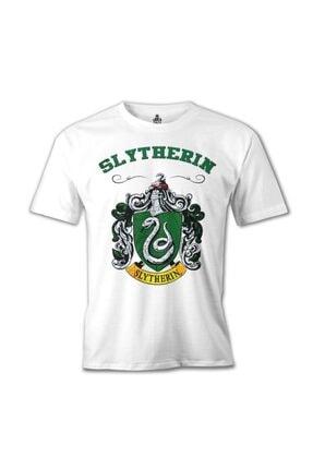 Lord T-Shirt Erkek Beyaz Harry Potter - Slytherin Tshirt mb-136 0