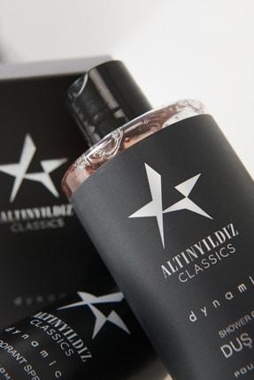 Altınyıldız Classics Erkek Siyah Parfüm Deodorant Duş Jeli Kişisel Bakım Seti 2