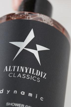 Altınyıldız Classics Erkek Siyah Parfüm Deodorant Duş Jeli Kişisel Bakım Seti 3