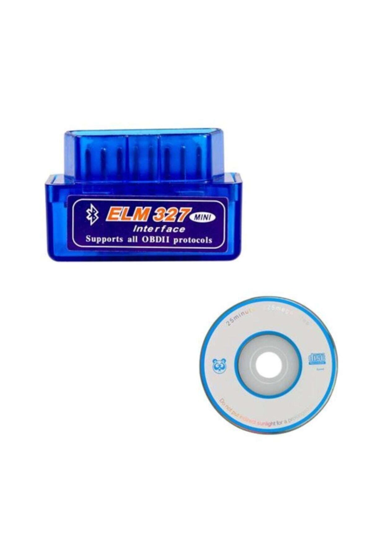 ELM327 Vers. 1.5 Araba Türkçe Araç Bluetooth Arıza Tespit Cihazı