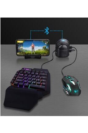 Enyatec Mıx 3 - Pubg Oyun Konsolu Klavye Mouse Bağlayıcı 3in1 - Mousepad Hediyeli 0