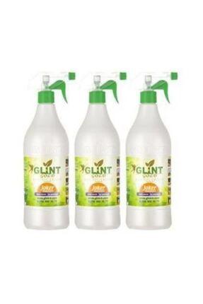 Glint Bitkisel Temizleyici & Çözücü Leke Çıkarıcı 3 Adet 1 Litre 0