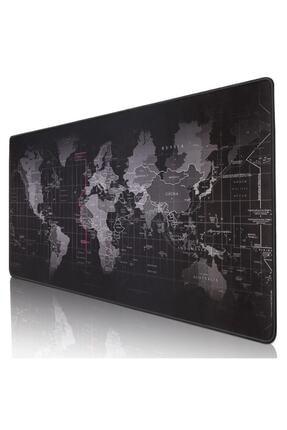 DALONG Dünya Haritalı Mouse Pad 90x40 cm 0
