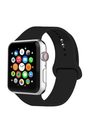 Cimricik Apple Watch Kordon 2 3 4 5 Seri 42 Mm Ve 44 Mm Silikon Kordon Kayış 0