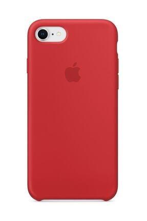 Telefon Aksesuarları Iphone 7/8 Silikon Kılıf Kırmızı 0