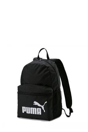 Puma Unisex  Siyah Phase Backpack Sırt Çantası 0