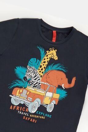 Denokids Safari Erkek Çocuk Pantolon Takım 4