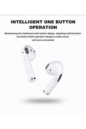 Teknoloji Gelsin Airpods Pro 5 Kablosuz Kulaklık Bluetooth Kualklık Beyaz 3