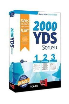 Yargı Yayınevi Yargı Yayınları 2000 Yds Sorusu 11. Baskı Akın Dil 0