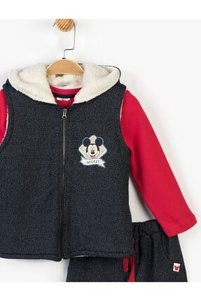 Mickey Mouse Çocuk Lacivert Disney Mickey 3lü Takım 14727 3