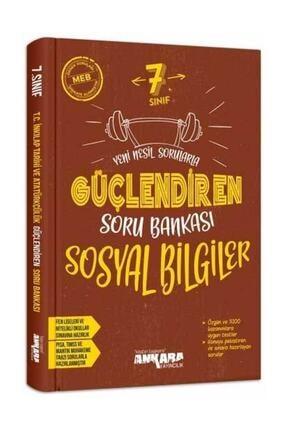 Ankara Yayıncılık 7. Sınıf Sosyal Bilgiler Güçlendiren Soru Bankası 0