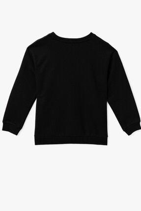 Koton Siyah Kız Çocuk Sweatshirt 2