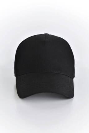 Addax Kadın Siyah Unisex Şapka ŞPK1007 - AKS ADX-0000022027 0