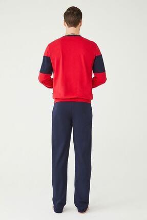 US Polo Assn Erkek Kırmızı Ev Giyim 2