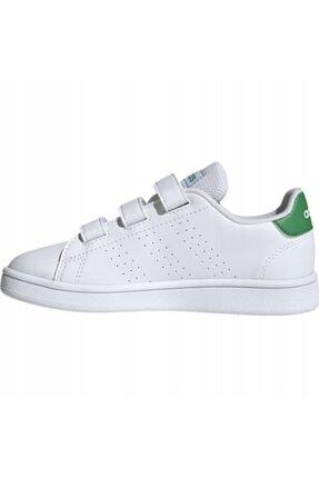 adidas ADVANTAGE C Beyaz Erkek Çocuk Sneaker Ayakkabı 100481637 2