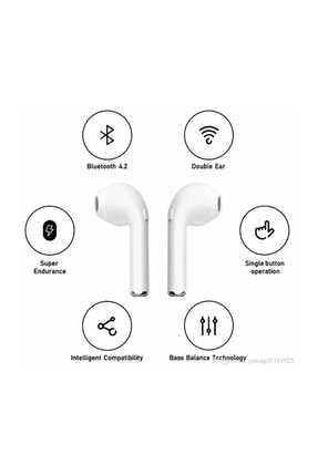 İnova Tws  Mikrofonlu Stereo Çift Powerbankli Bluetooth Kulaklik Beyaz 3