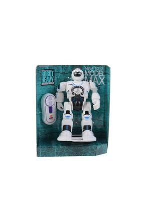 Mega Oyuncak Kutulu Müzikli Kumandalı Yürüyen Robot Oyuncak Hd3844 0
