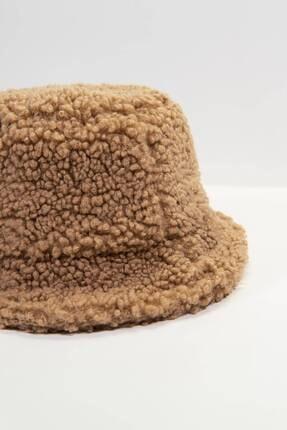 Addax Kadın Sütlü Kahve Bucket Şapka Şpk1031 - F2 ADX-0000022934 3
