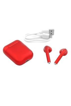 Tws Airpods I12 Kırmızı Iphone Android Universal Bluetooth Kulaklık HD Ses Kalitesi 0945347310220 1