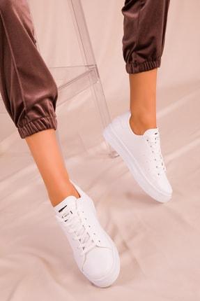 Soho Exclusive Beyaz Kadın Sneaker 14739 2