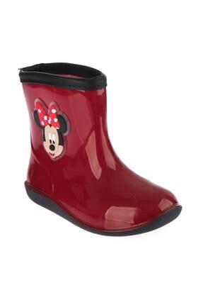 MINNIE MOUSE Mickey Mouse 97238 Kırmızı Siyah Kız Çocuk Panduf 100394274 2