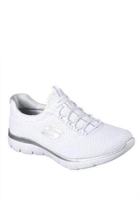 Skechers SUMMITS Kadın Beyaz Spor Ayakkabı 0