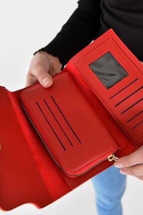 Addax Kadın Kırmızı Cüzdan Czdn55 - F6 ADX-0000019896 1