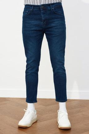 TRENDYOL MAN Lacivert Erkek Skinny Crop  Jeans TMNSS21JE0060 2