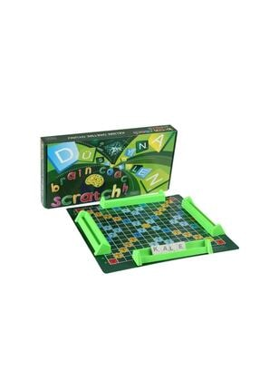 EA Oyuncak Kelime Oyunu Yerli Üretim Scrabble Kelime Üretme Oyunu 0