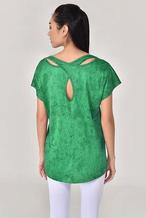 bilcee Yeşil Kadın Tshirt 8075 1