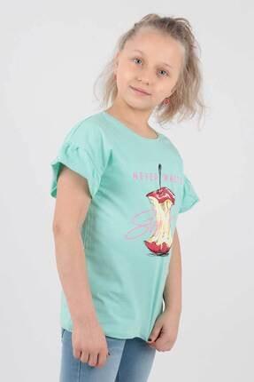 Ahenk Kids Kız Çocuk Elma Baskılı Tshirt Ak721507 3