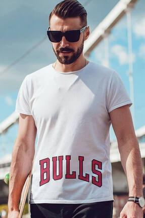 Tişört Beyaz Erkek Tişört T-shirt PMT60959