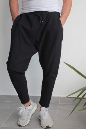BAYKİM Şalvar Model Pantolon Siyah Renk 1