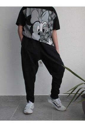 BAYKİM Şalvar Model Pantolon Siyah Renk 2