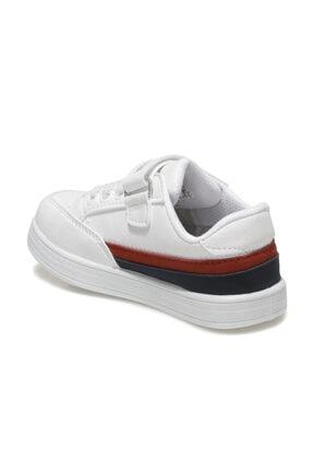 US Polo Assn JAMAL 1FX Beyaz Erkek Çocuk Sneaker Ayakkabı 100911024 2