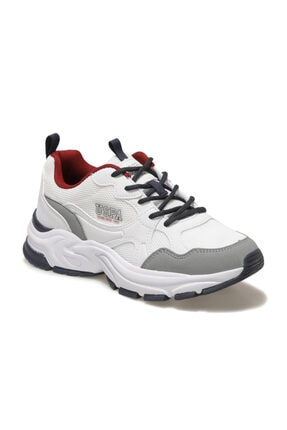 US Polo Assn FOX Beyaz Kadın Sneaker Ayakkabı 100604831 0