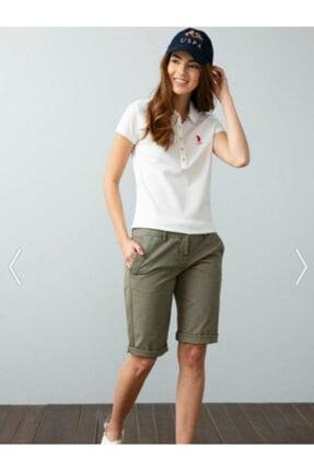 US Polo Assn Kadın Us Polo Assn Kadın Polo Yaka T-shirt G082sz011.000.734021 0