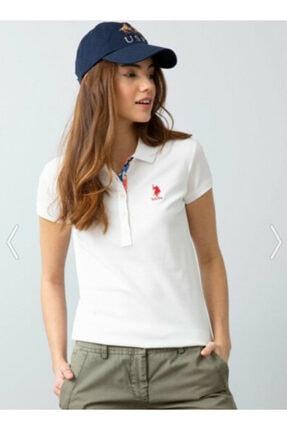 US Polo Assn Kadın Us Polo Assn Kadın Polo Yaka T-shirt G082sz011.000.734021 2