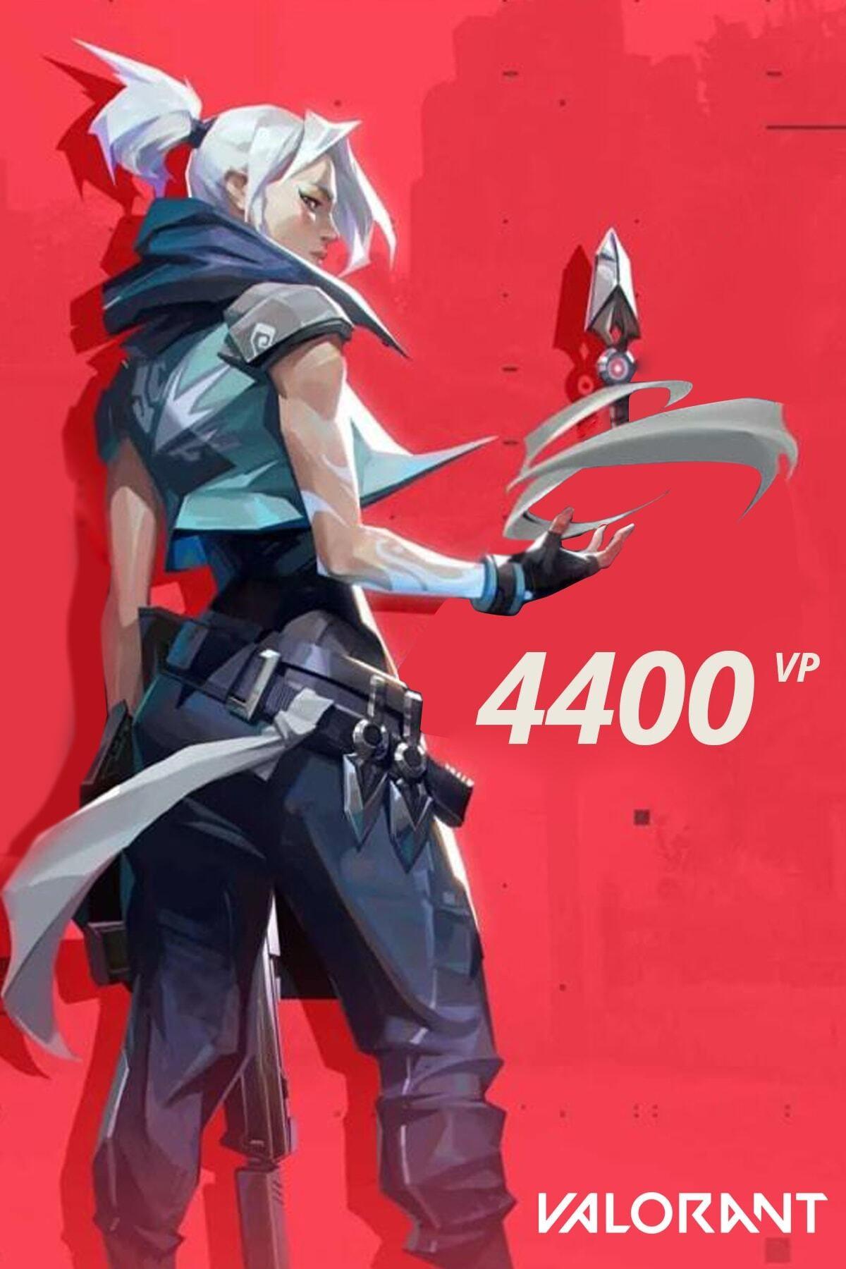 Riot Games 4400 Valorant Points TR 0